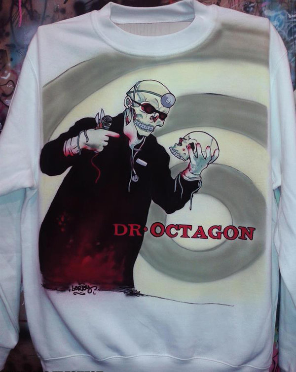 DR. OCTAGON - Airbrush Sweater custom made