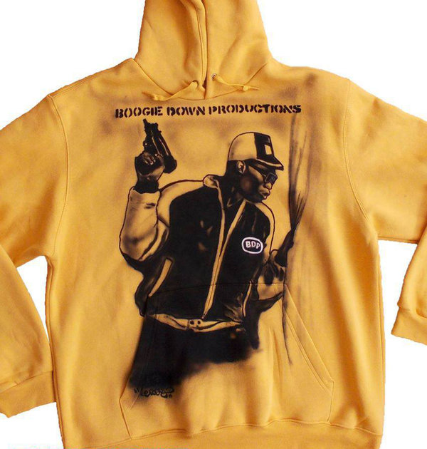 KRS 1 BDP - Airbrush Sweater custom made