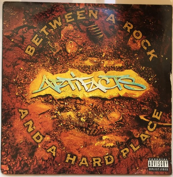 Artifacts ‎– Between A Rock And A Hard Place (LP Album)